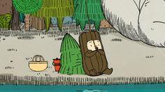 KUBBE kort animasjon(キュッパのアニメ) 7箱:おおモノを釣りにいこう【後編】