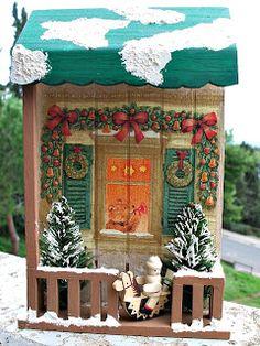 La Città di Carta: Decorazioni Natalizi II - Weih nachts dekor II