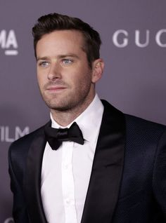"""Armie Hammer of """"Call Me By Your Name"""" at LACMA Art & Film Gala 2017"""