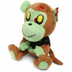 Exclusive Zombie Monkey Plush
