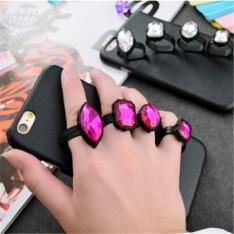 Stella McCartneyハードケース宝石指輪ダイヤモンドリングiPhone6/6S plusケースアイフォン7保護カバーステラ・マッカートニー