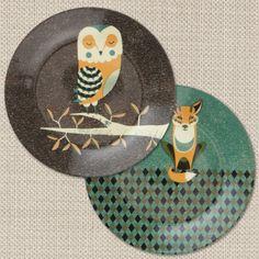 fox dinner plates - Google Search