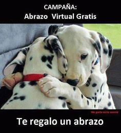 Abrazo virtual gratis