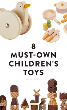 8 must-own chic children's toys