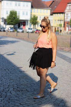 Summerlook neon orange :D