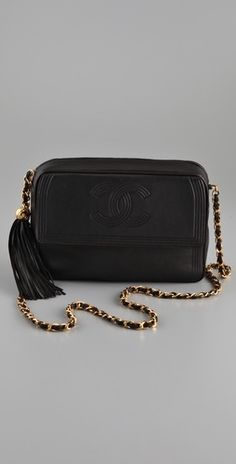 aa94c789e486 WGACA Vintage Vintage Chanel Flap Handbag - StyleSays Everything Designer