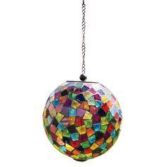 "Carson Mosaic Solar Orb - Multi-Colored (8"") $48.40"
