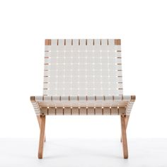 A Folding Chair with Flair - Easy Chair by Carl Hansen.