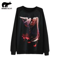 Autumn Women Cartoon Girl Print Hoodies Thin Tracksuit Harajuku Hoody Casual Tops Pullover Long Sleeve Sweatshirt Like it? http://www.lady-fashion.net/product/autumn-women-cartoon-girl-print-hoodies-thin-tracksuit-harajuku-hoody-casual-tops-pullover-long-sleeve-sweatshirt-waibo-bear/ #shop #beauty #Woman's fashion #Products
