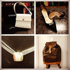 Why Not End The Month With A Fabulous Treat From Closet Revival? Chanel,  Manolo