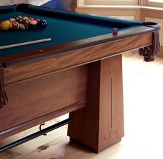 For the Love of Pool. Custom Game Tables. An IdeaBook on Houzz --> Dorset Custom Furniture #gamerooms #luxe