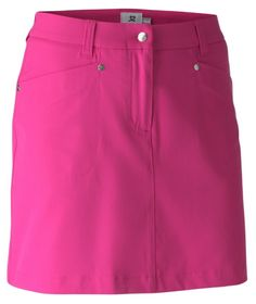 """Need new golf apparel? Daily Sports takes pride in offering women's golf clothing for all shapes and sizes. Buy this Cerise Daily Sports Ladies Lyric 20½"""" Golf Skorts today from Lori's Golf Shoppe!"""