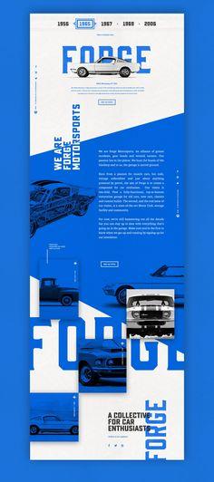 Forge Final Underscore (Blue) – Ui design concept by Nick Franchi.