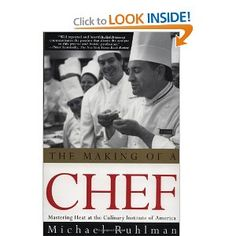 If you've ever wondered what it's like to go through culinary school, Michael Ruhlman's The Making of a Chef documents his experience going through part of the Culinary Institute of America's two-year program.