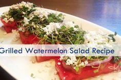 Sun & Salads | Grilled Watermelon Salad