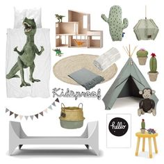 """Kidsproof"" by sproetje ❤ liked on Polyvore featuring interior, interiors, interior design, home, home decor, interior decorating, Sebra, SNURK, homedecor and moodboard"