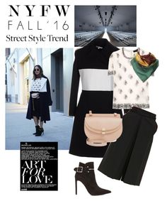 """""""Street Style"""" by sabrina-fatma-ahmad ❤ liked on Polyvore featuring Carven, Isabel Marant, Diane Von Furstenberg, Balenciaga, Polo Ralph Lauren, Chloé, women's clothing, women, female and woman"""