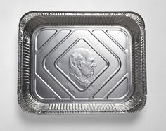 Embossed Aluminum trays - how cool?
