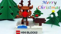 Christmas Micro Rudolph Block Dog Mickey Angry Birds Spongebob Toys Doll...