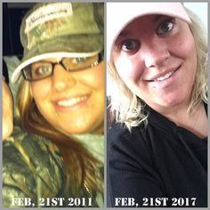 """6 years & several changes later.  Back then I was #young #wild & #free. #Today some of that's still true.  The real reason for this post the second photo I look #younger #healthier and #feel worlds #better than I did in the first #photo. Not all #transformations are #visible. You #strive everyday to become a better person inside & out. At the end of my day I #pray & talk to my #dad in #heaven after I ask myself """"Could I have done anything better today?"""" Sometimes I don't like my #truthful…"""