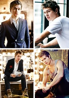 Ansel Elgort for Teen Vogue [April Issue 2015]