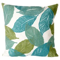 Found it at Wayfair - Mystic Leaf Pillow