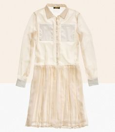 Le Mont St. Michel shirtdress from Madewell.