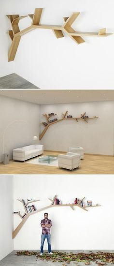 Tree bookcase. So want this!
