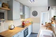 Kitchen 144.500 nortcote street terraced house 3 bed