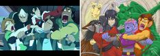 The scene where the Voltron gang fly in a Lion for the first time is SO FUNNY. I just HAD to replicate it with a Dragon Calling version. So now the DC crew look just as hilarious in their own wild ride (a run-away wagon). Pic includes characters: Ubi, Ghinzel, Fargo, Yarad, Laeka'Draeon, Shifra, and Norf. #voltroncharacters #dragoncallingcharacters #dragoncallingseries #dragoncalling #dragoncallingart #funnycharacterexpressions #voltronlegendarydefender Funny Character, Lion, Hilarious, Dragon, Scene, Characters, Fantasy, Adventure, Pictures