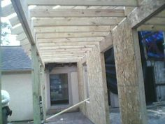 Frammers continued to work in bad weather. Finished all exterior walls and cielings. Electrical starting rough in Jan 28