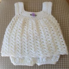 Easy Baby Sun Dress - Free Pattern