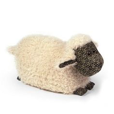 Lois the Lamb Doorstop from Dora Designs . . Sold by TartanPlusTweed.com A family owned kilt and gift shop in the Scottish Borders