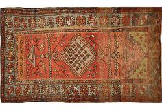 Vintage Anatolian Rug  1910-1950