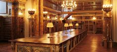 Liechtenstein's Palace in Vienna. The library. Liechtenstein's Palace in Vienna. The library. Public Library Architecture, Royal Family History, Dream Library, Beautiful Library, Honeymoon Pictures, Visit Austria, Antique Interior, Home Libraries, Vienna