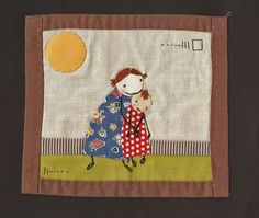 Hey, I found this really awesome Etsy listing at https://www.etsy.com/listing/119460440/sisters-little-mini-quilt-art-quilt