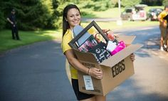 A lot of college packing lists seem like overkill. So what do you really need to bring? Photo: Nazareth College Angela writes in: In nine days, our oldest College Years, College Hacks, Freshman Year, College Fun, College Life, College Packing Lists, College Checklist, Nazareth College, Moving Day