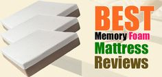 Top 10 Best Memory Foam Mattresses Reviews and Comparison