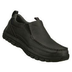 Skechers Masen-Leone Shoes (Black) - Men's Shoes - 11.5 M