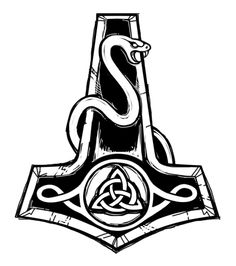 mjolnir tattoo - Google Search