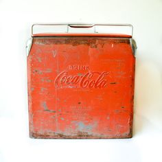 50s Coca-Cola Cooler now featured on Fab.