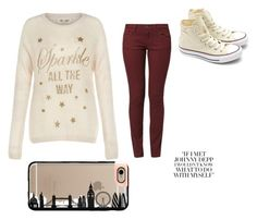 """""""Untitled #55"""" by purplepizza on Polyvore featuring Wrangler, Converse and Casetify"""