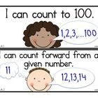 25 I can statements. The common core math standards chunked into kid-friendly I can statements. Fun Math, Maths, School Classroom, Classroom Ideas, Teaching Math, Teaching Ideas, Wilson Reading, Counting To 100, Common Core Math Standards