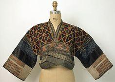 "haruenishikawa: "" Jacket 19th century Chinese minority (Danzai people) cotton, hemp, silk """