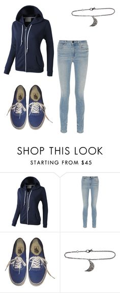 """""""Dani Swan Outift 1"""" by taylor-ross115 on Polyvore featuring LE3NO, Alexander Wang, Vans and ADORNIA"""