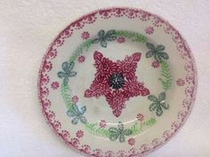 Old Scottish Spongeware Bowl.....Probably Kirkcaldy