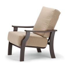 Telescope Casual St. Catherine Arm Chair with Cushion Finish: Kona, Fabric: Cobalt