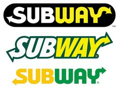 Subway Restaurants Logo Evolution 1968-2017