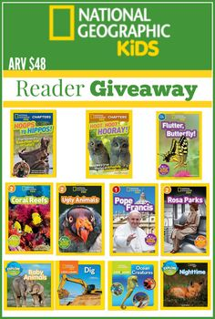 The Mommy Island: Reading Rocks With National Geographic Kids {Giveaway Hop}