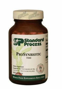 66 Chiropractic supplement of the week: ProSynbiotic  It seems like Probiotics are the hot topic these days. Standard Process has their version of a probiotic that they released in 2010. This is a gluten free product that supports gut flora and overall intestinal health.  It also: Is useful in maintaining a healthy gut microbial environment Contributes to absorption of calcium and magnesium Improves nutrient digestion and absorption Supports normal bowel regularity and consistency